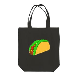 タコス Tote bags