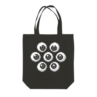 アイボール Tote bags