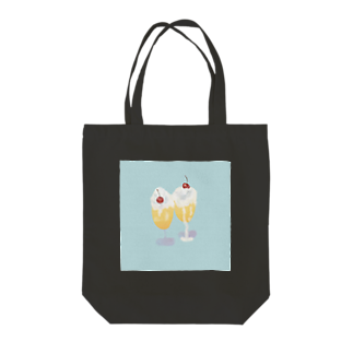 2zdoppoのクリームソーダ Tote bags