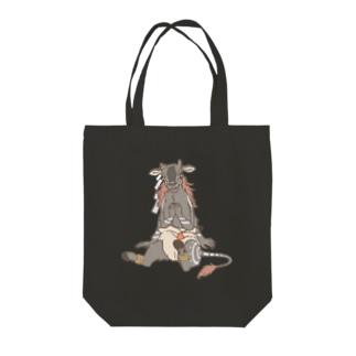 おしめ妖怪 牛鬼(ぎゅうき) Tote bags