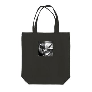 ねこ・ねこ・ねこ・ねこ Tote bags