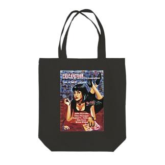 パルプフィクション Tote bags