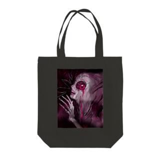 病理カプリチオ Tote bags