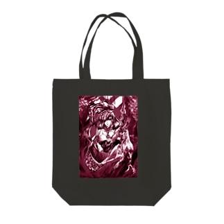 天地開闢の女神 Tote bags