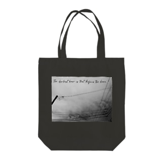 The darkest hour is that before the dawn. Tote bags