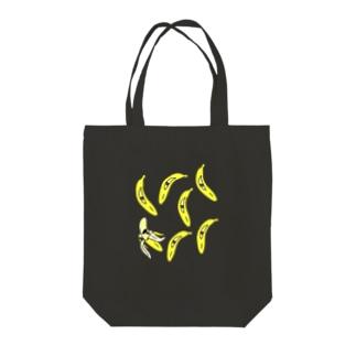 モアバナナ Tote bags