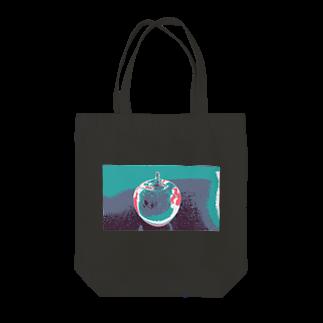 rinne_yuyuのリンゴ Tote bags