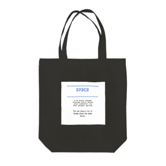 space&mt_officialのspace Tote bags