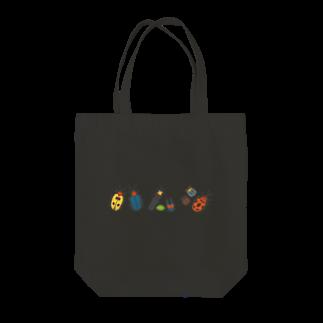 hananico***のカラフルポップなハムシ Tote bags