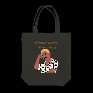 キッズモード某の夏の金髪の文豪 Tote bags