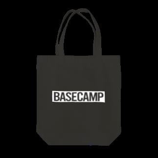 BASE-CAMPのBASE CAMP WHITE Tote bags