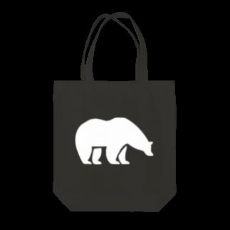 BASE-CAMPのBASE BEAR 01 WHITE Tote bags