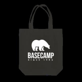 BASE-CAMPのBASE BEAR 02 WHITE Tote bags