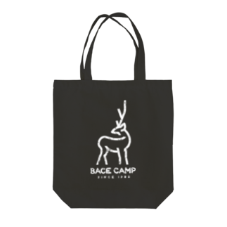 BASE-CAMPのBASE シカ 01WHITE Tote bags