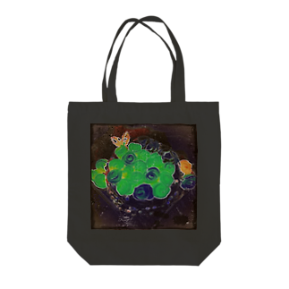 kokoperiの『コントラーレ』 Tote bags