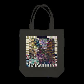 Oxygen8のglitch!! Tote bags