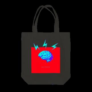 LAHのBRAINSHOCK Tote bags