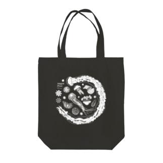 Jellyfish planet(クラゲの惑星) Tote bags