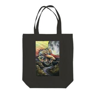 ベタベタトートバッグ Tote bags
