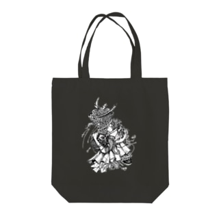 Afterimage Tote bags