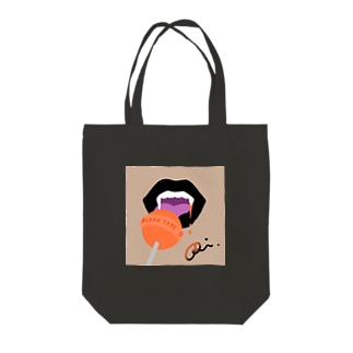 o型好きなヴァンパイア Tote bags