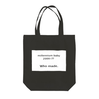 Millennium babyトートバッグ Tote bags