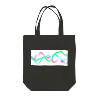 エレクトリックなせ〜ん Tote bags