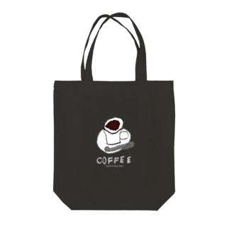 のらしおん コーヒー ne Tote bags