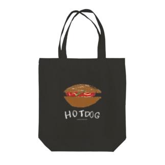 ホットドッグ のらしおん ne Tote bags