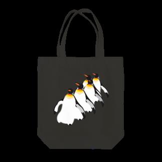 Studio MOONのペンギン Tote bags