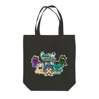 Creepy Treasures! Monsuter Familiy! Tote bags