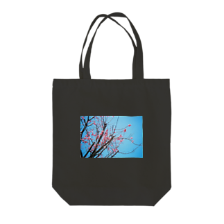 cozcozの梅 Tote bags