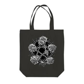 BLACKINK のPENTAGRAM Tote bags