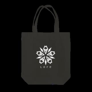 LoreのLore(WHITE) Tote bags