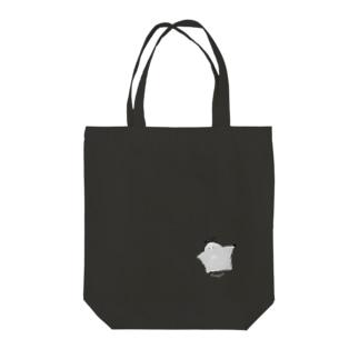 ぱけくん Tote bags