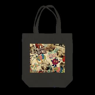 ___Ru____の海外 Tote bags