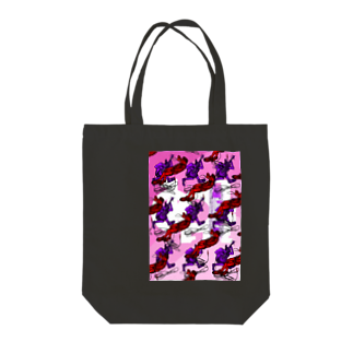 ONE PLUG DISordeRのONE PLUG DISordeR(cross OveR) Tote bags