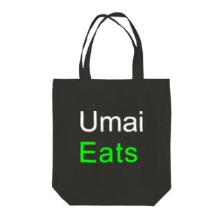 Umai_Eats Tote bags