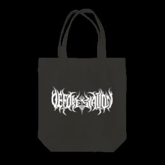 Gbの森林伐採 バンド風ロゴ Tote bags
