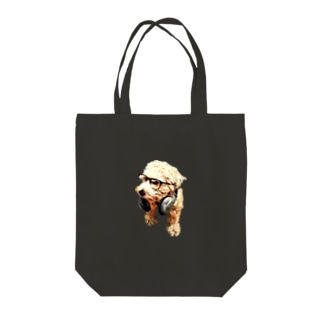 Graves with Headphone Tote bags