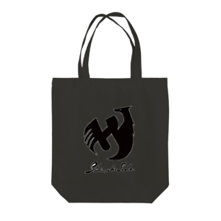 Shinsuke Sada Goods ShopのSHINSUKE SADA オフィシャルロゴグッズ Tote bags