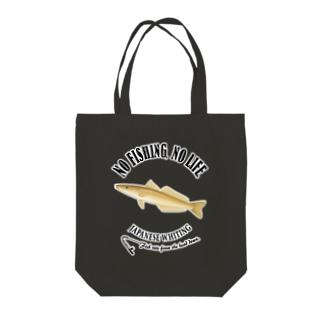 SHIROGISU_6_4C Tote bags