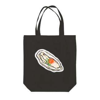 生牡蠣 Tote bags