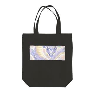 幸運の青龍 Tote bags