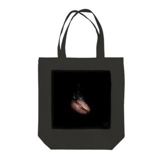 焼き立て香り立つ Tote bags