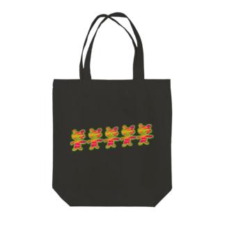SANTA⭐︎BEAR Tote bags