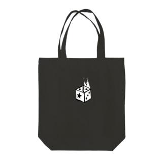 ダイスの妖精 Tote bags