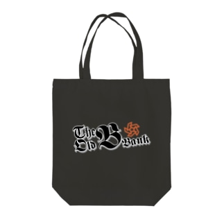 The Old B Bank Tote bags