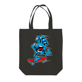 Atomic CountyのSK8HAND Tote bags