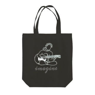 imagine Tote bags
